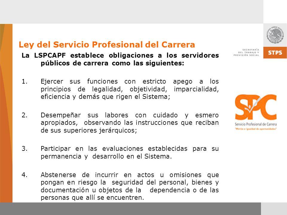 Ley del Servicio Profesional del Carrera