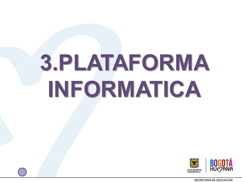 3.PLATAFORMA INFORMATICA