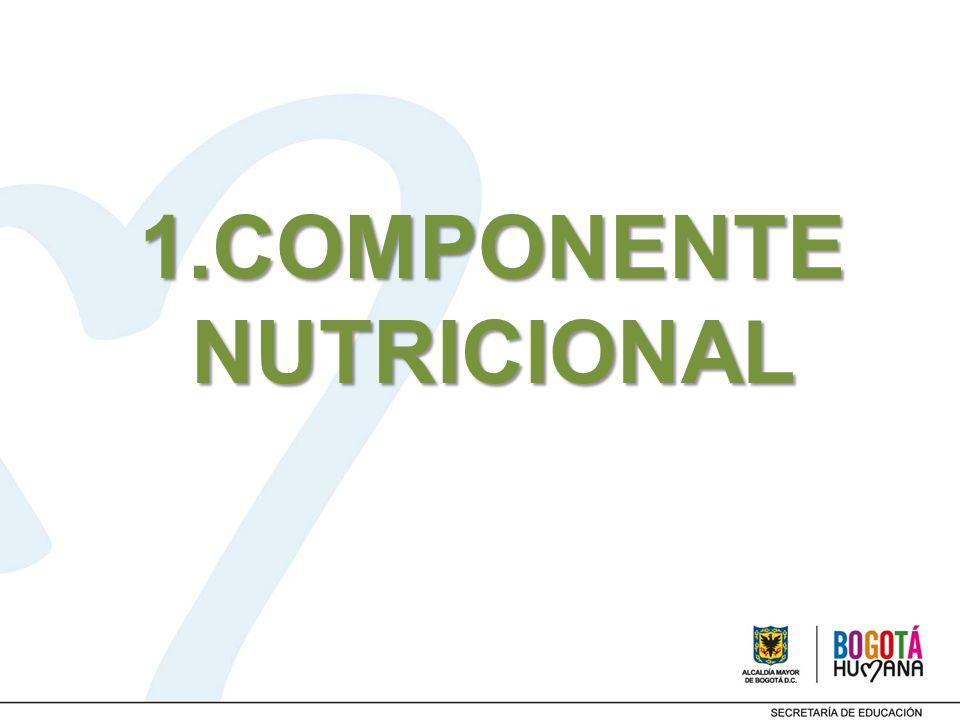 1.COMPONENTE NUTRICIONAL