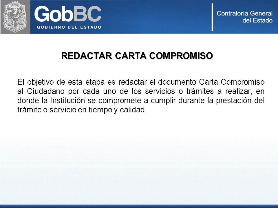REDACTAR CARTA COMPROMISO