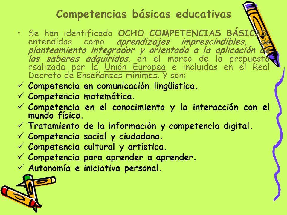 Competencias básicas educativas