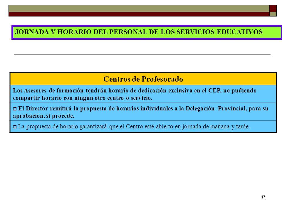 Centros de Profesorado