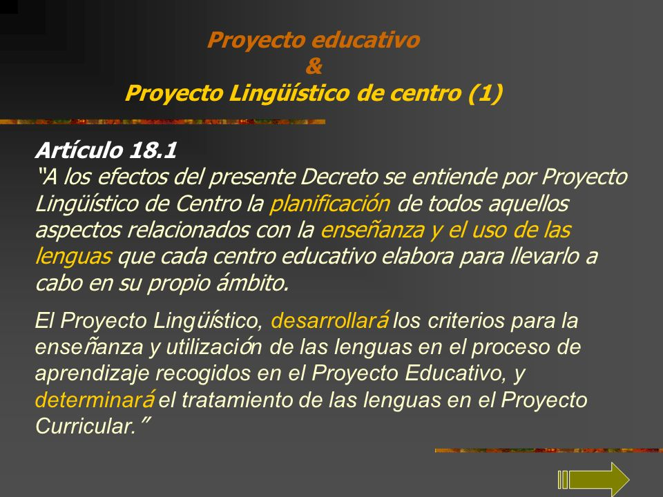 Proyecto Lingüístico de centro (1)