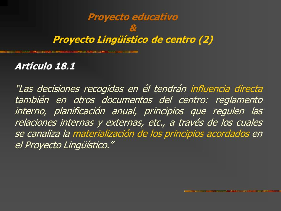 Proyecto Lingüístico de centro (2)