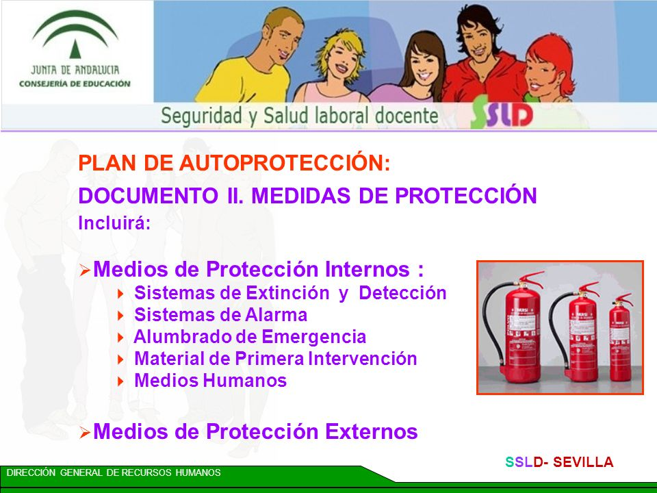 PLAN DE AUTOPROTECCIÓN: DOCUMENTO II. MEDIDAS DE PROTECCIÓN