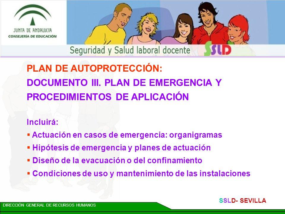 PLAN DE AUTOPROTECCIÓN: