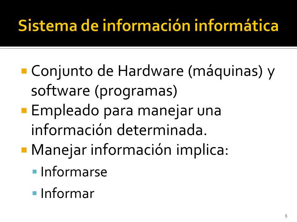 Sistema de información informática