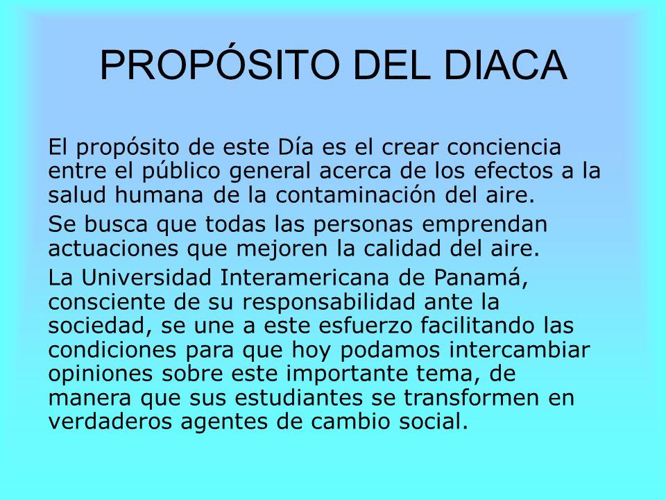 PROPÓSITO DEL DIACA