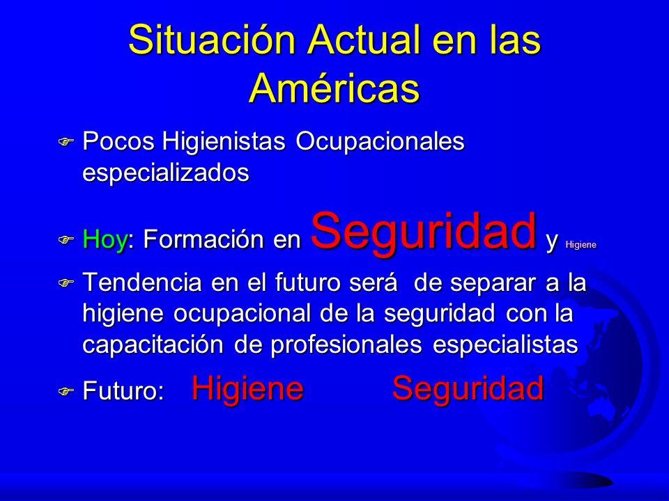 Situación Actual en las Américas