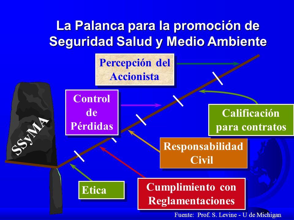 SSyMA La Palanca para la promoción de Seguridad Salud y Medio Ambiente
