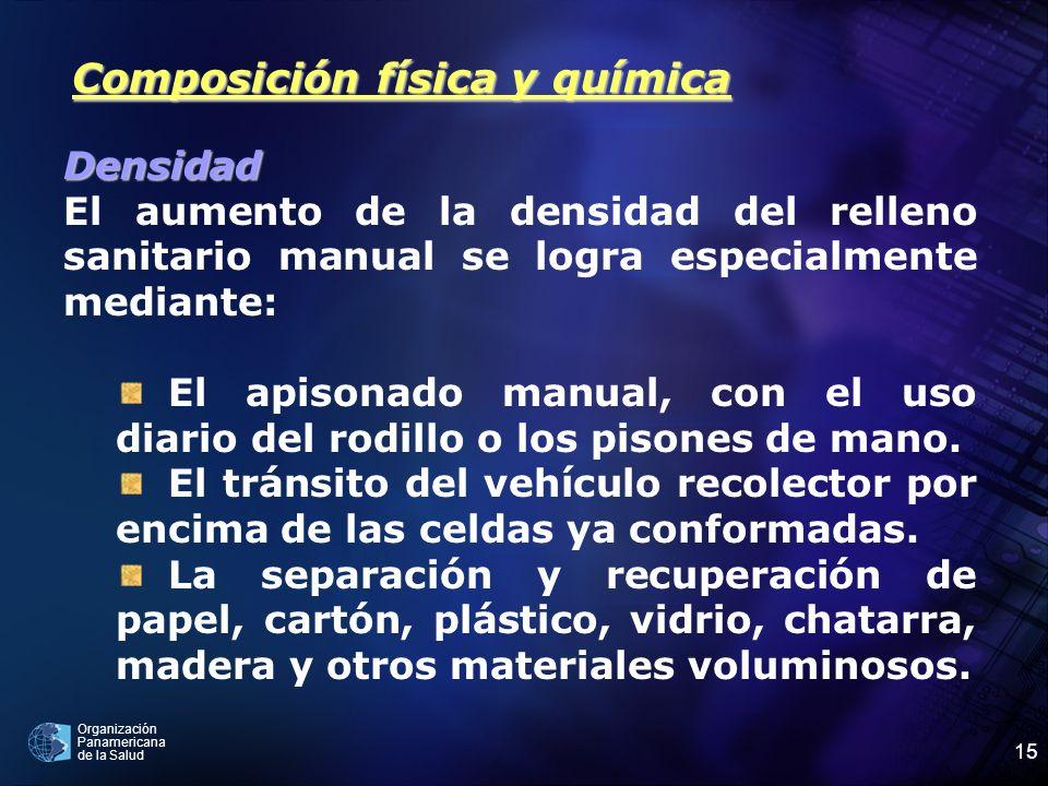 Composición física y química