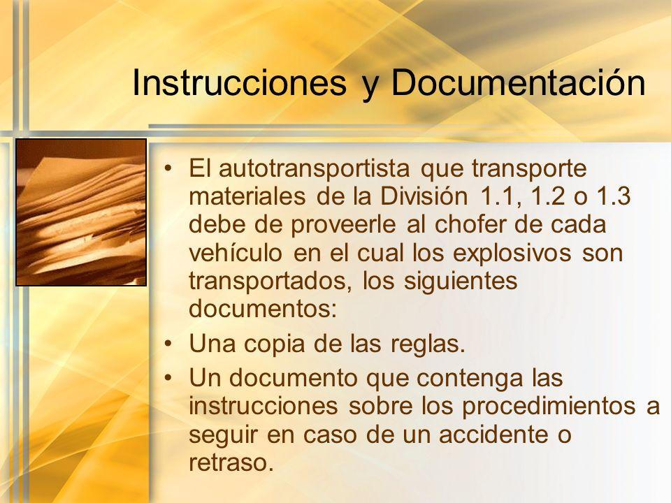 Instrucciones y Documentación