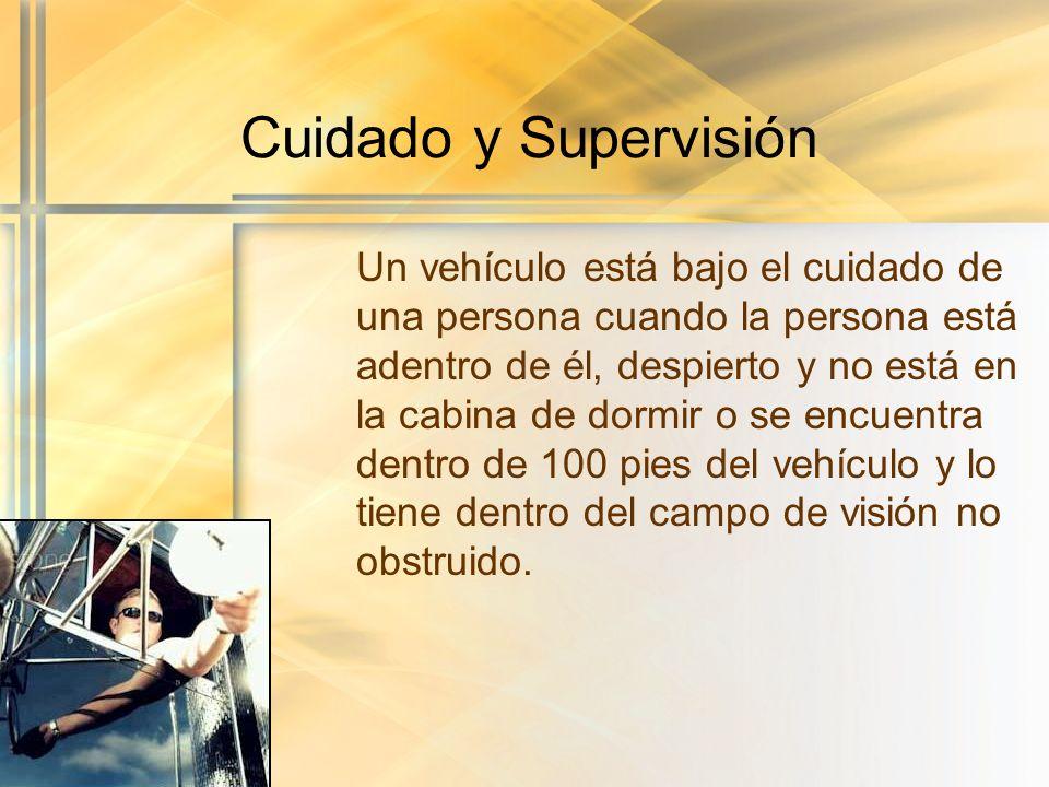 Cuidado y Supervisión