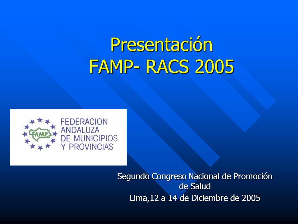 Presentación FAMP- RACS 2005