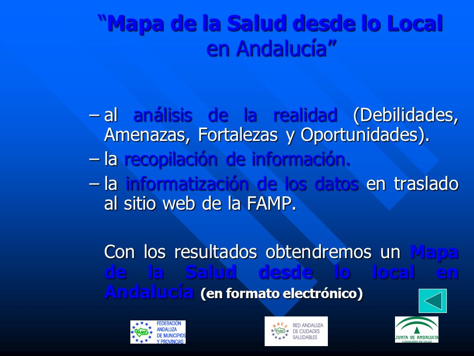 Mapa de la Salud desde lo Local en Andalucía
