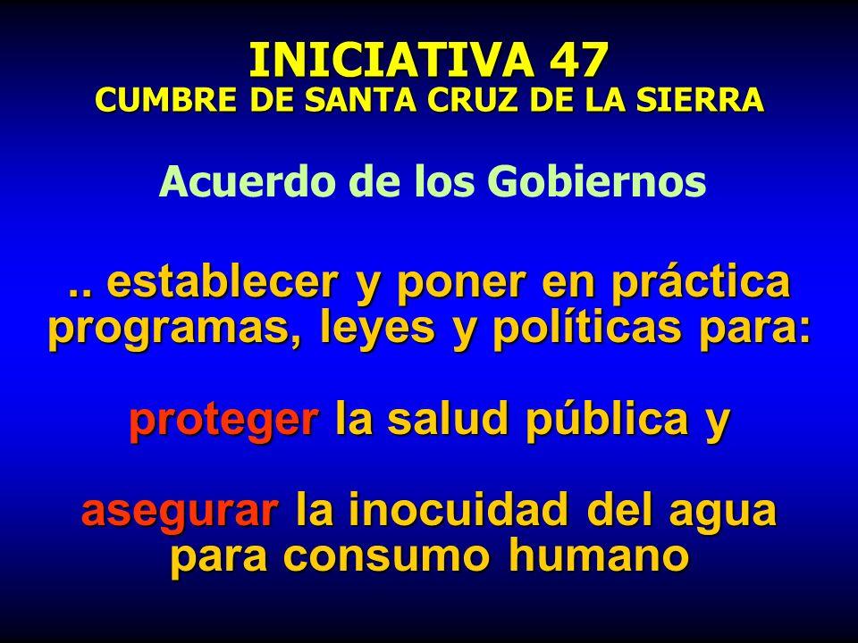 INICIATIVA 47 CUMBRE DE SANTA CRUZ DE LA SIERRA