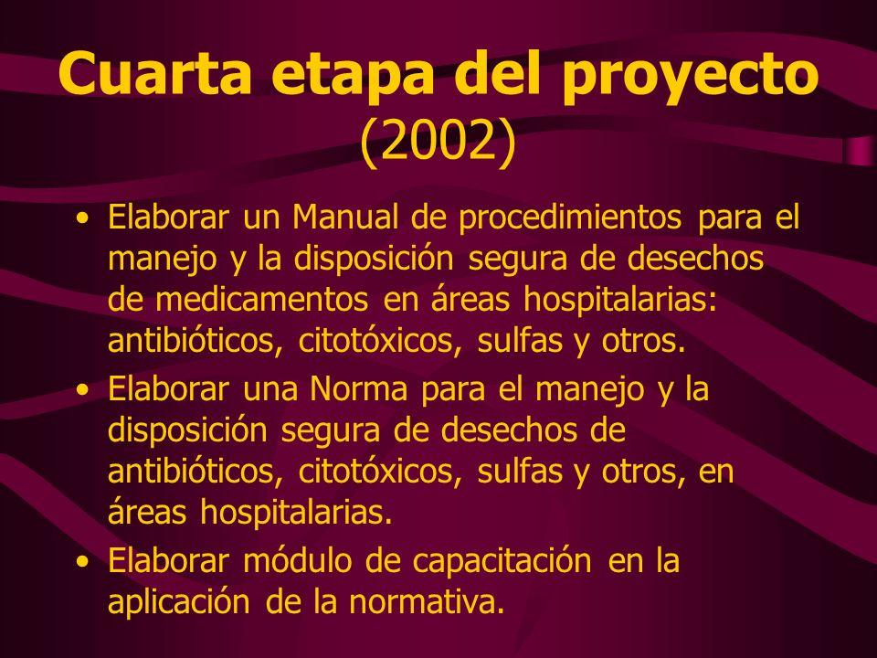 Cuarta etapa del proyecto (2002)