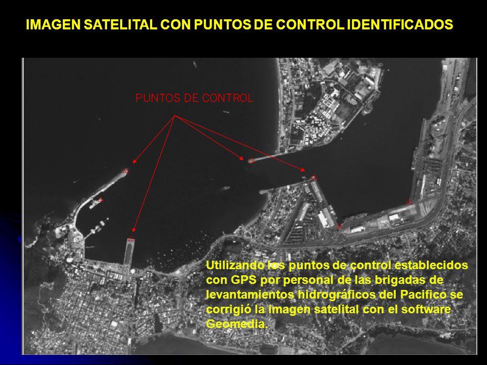 IMAGEN SATELITAL CON PUNTOS DE CONTROL IDENTIFICADOS