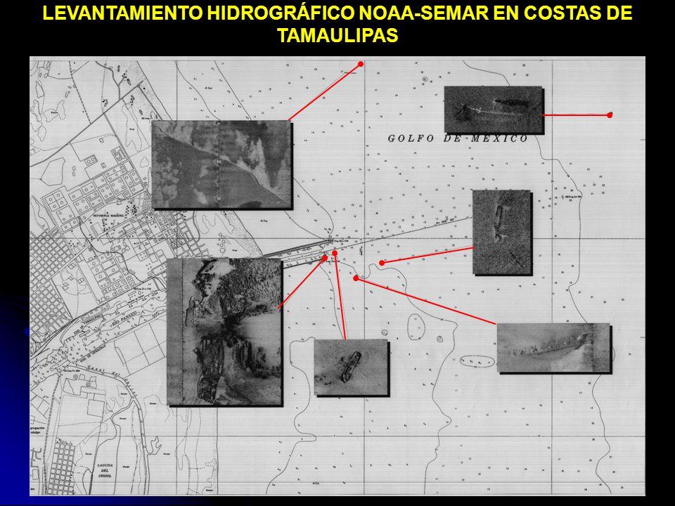 LEVANTAMIENTO HIDROGRÁFICO NOAA-SEMAR EN COSTAS DE TAMAULIPAS