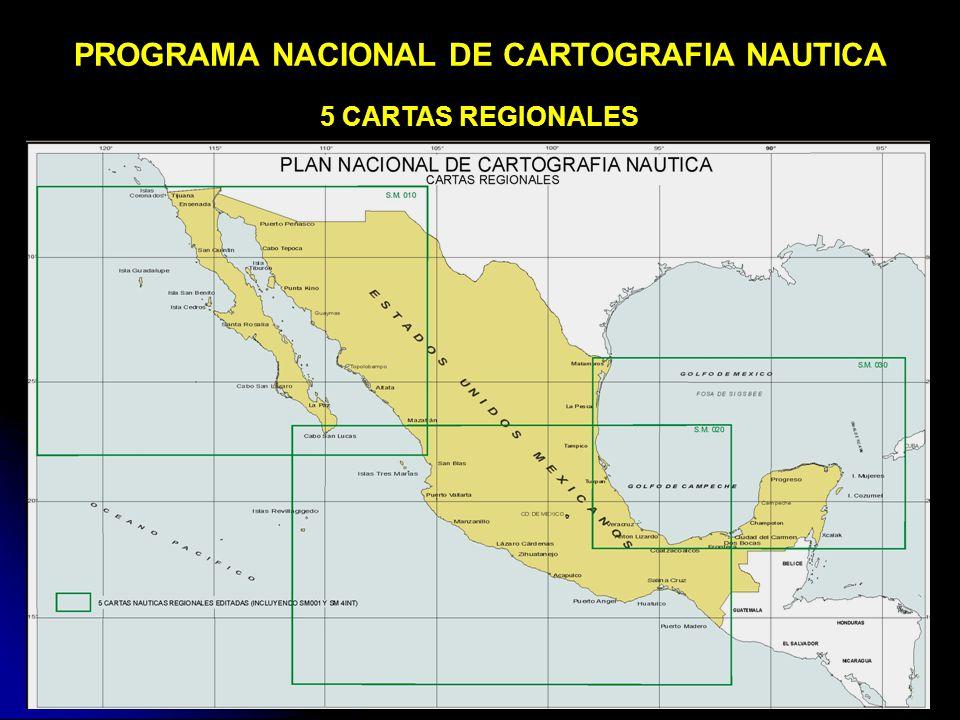 PROGRAMA NACIONAL DE CARTOGRAFIA NAUTICA