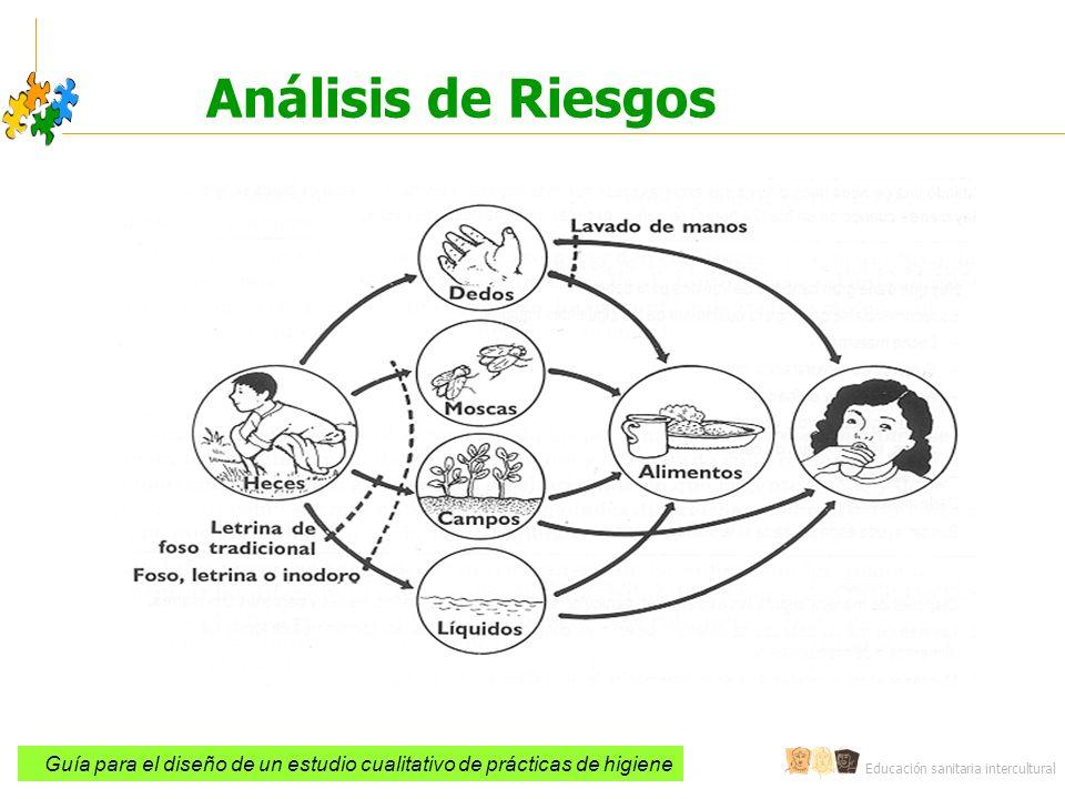Análisis de Riesgos Guía para el diseño de un estudio cualitativo de prácticas de higiene