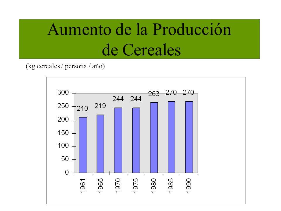 Aumento de la Producción de Cereales