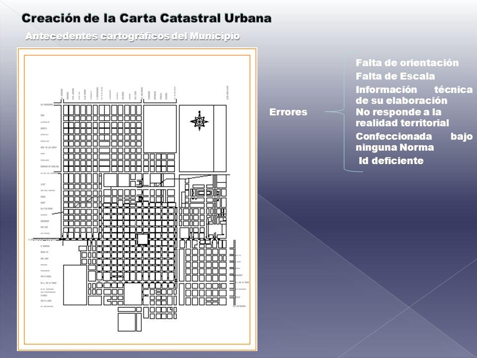 Antecedentes cartográficos del Municipio