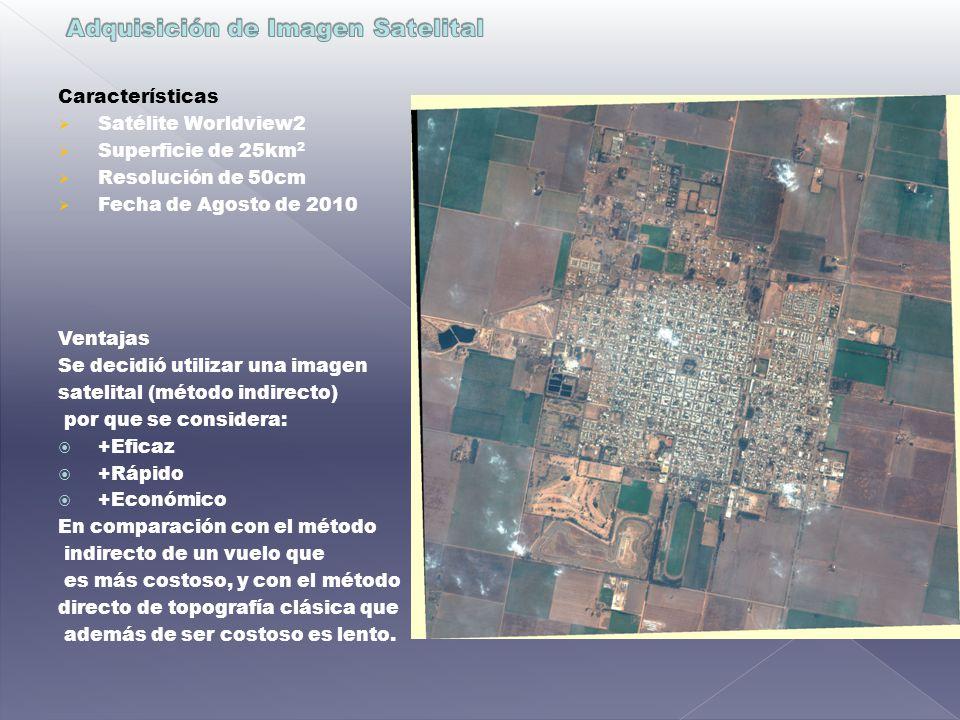 Adquisición de Imagen Satelital