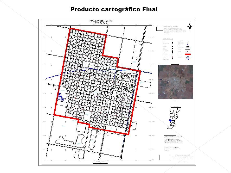 Producto cartográfico Final