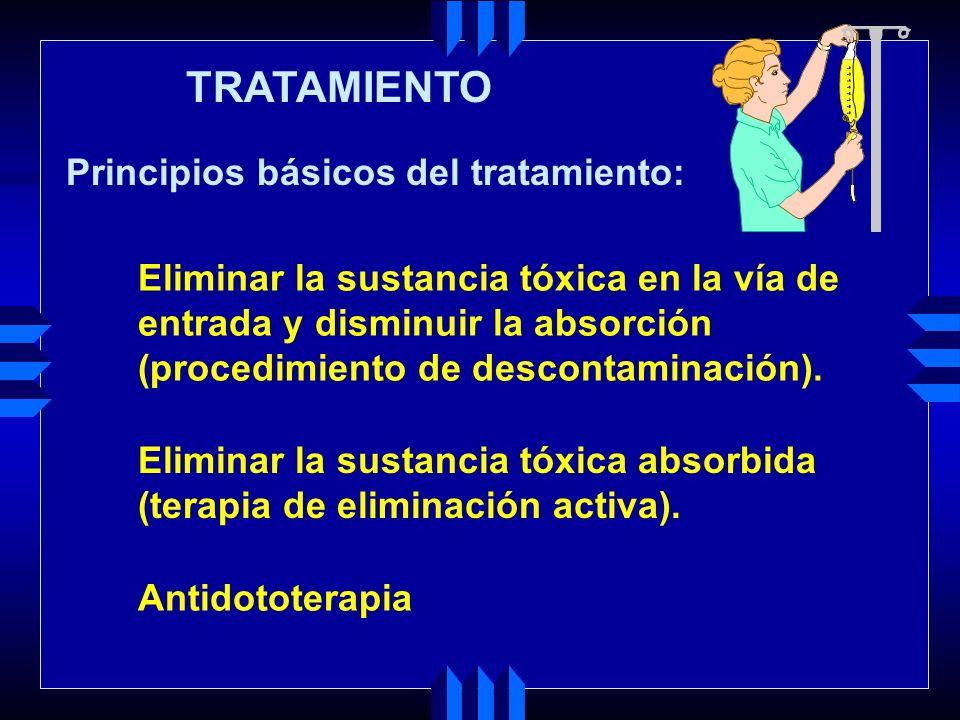 TRATAMIENTO Principios básicos del tratamiento: