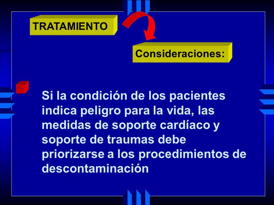 Si la condición de los pacientes indica peligro para la vida, las