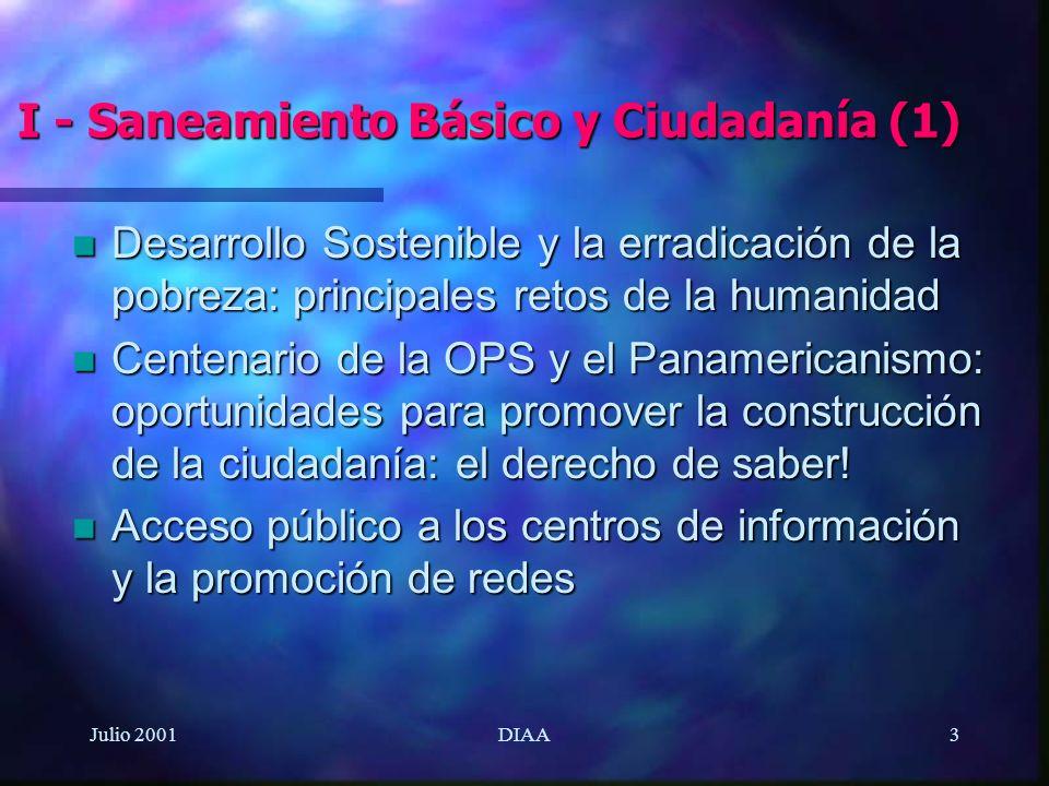 I - Saneamiento Básico y Ciudadanía (1)