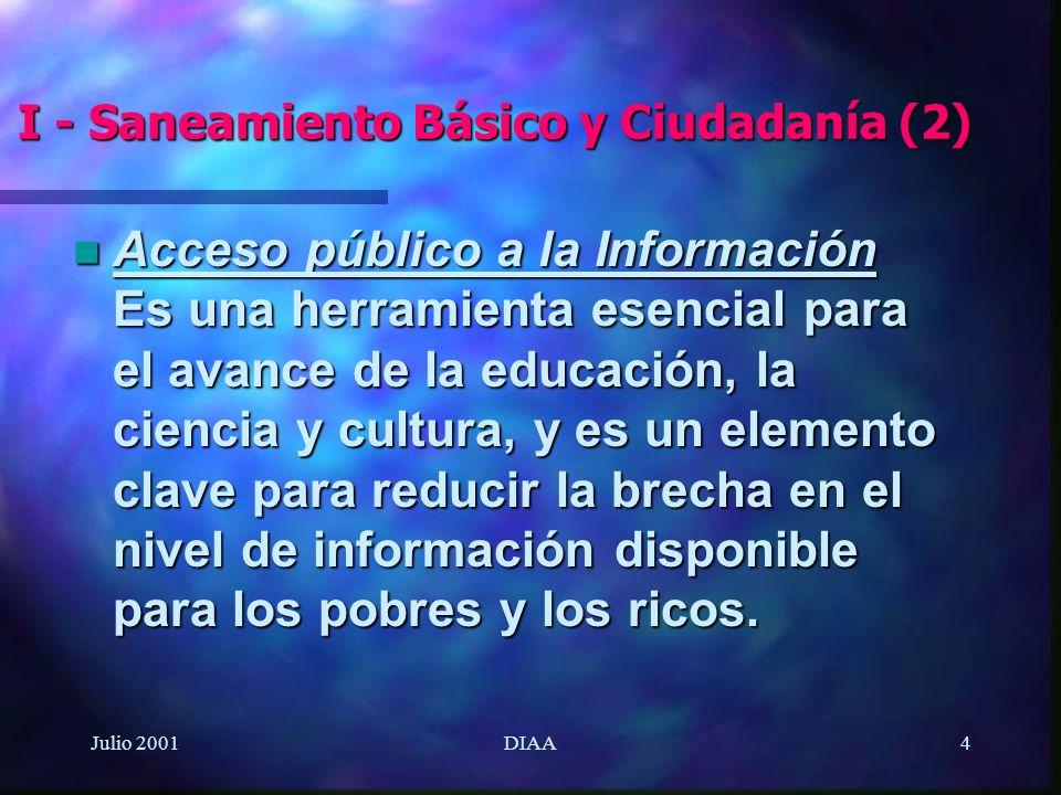 I - Saneamiento Básico y Ciudadanía (2)