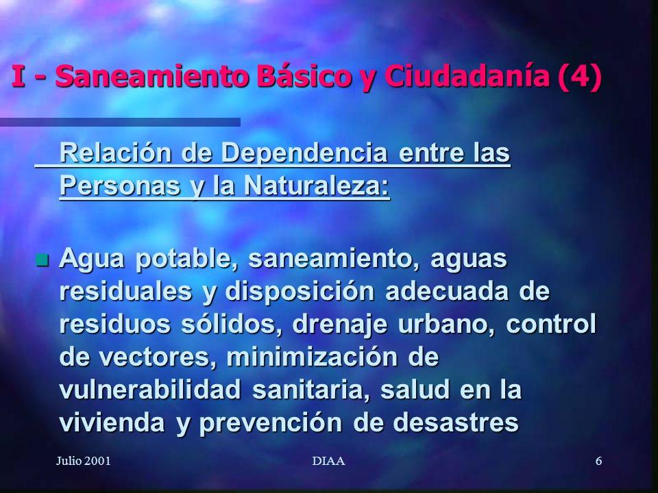 I - Saneamiento Básico y Ciudadanía (4)