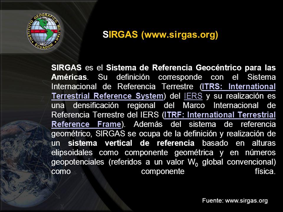 SIRGAS (www.sirgas.org)