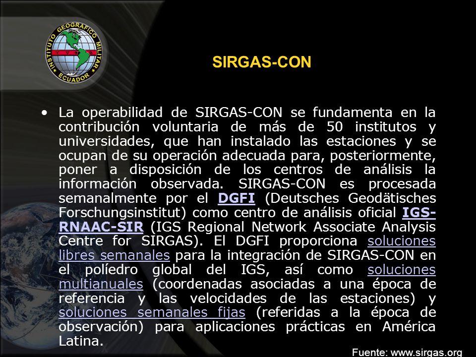 SIRGAS-CON