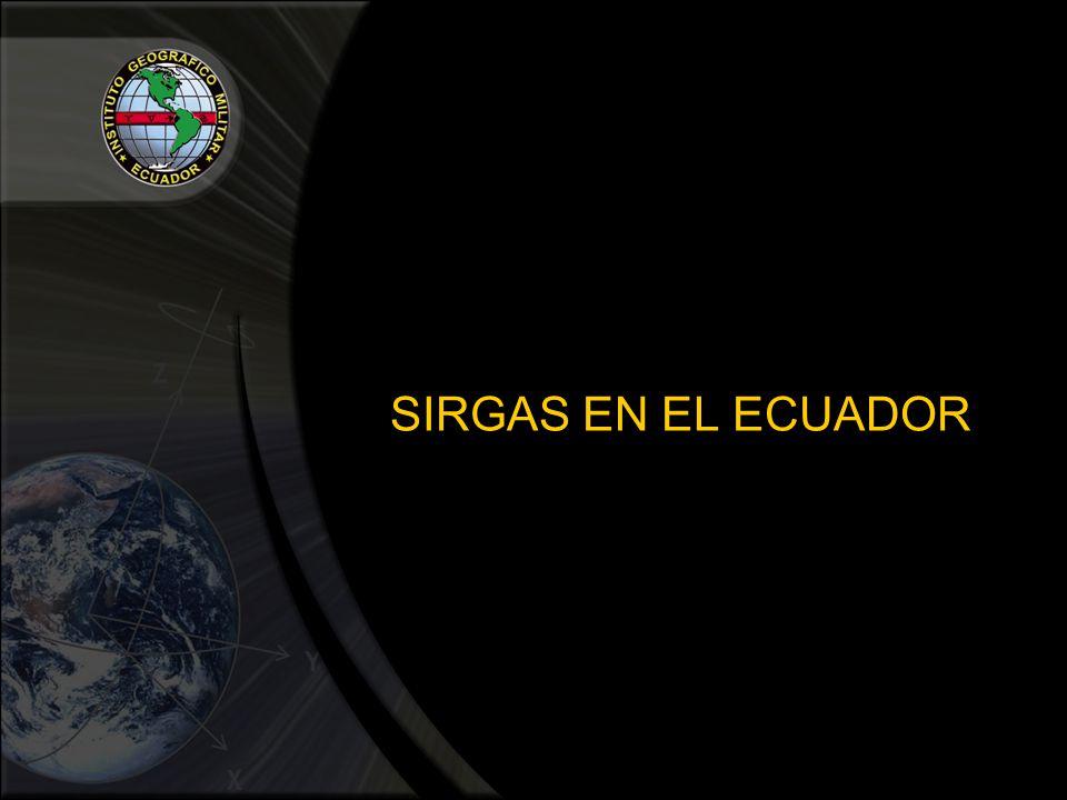 SIRGAS EN EL ECUADOR