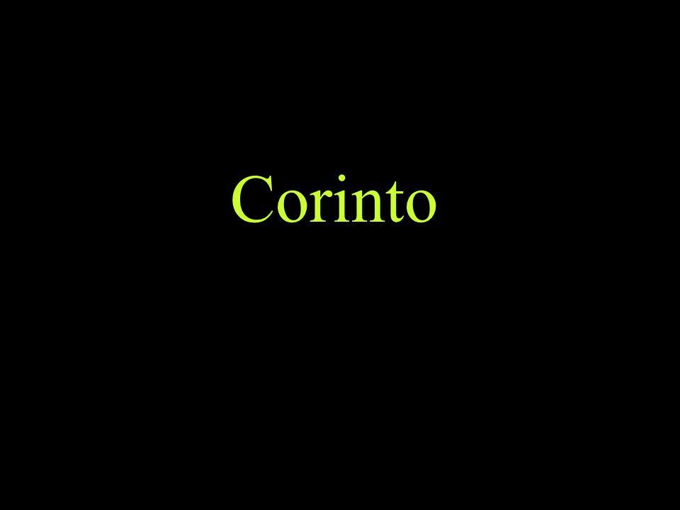 Corinto Ver buen material sobre las cartas a los corintios en: