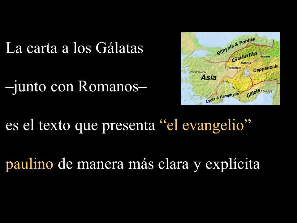 es el texto que presenta el evangelio