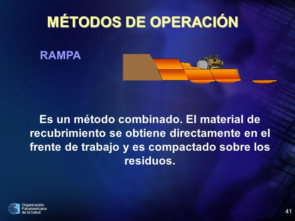 MÉTODOS DE OPERACIÓN RAMPA
