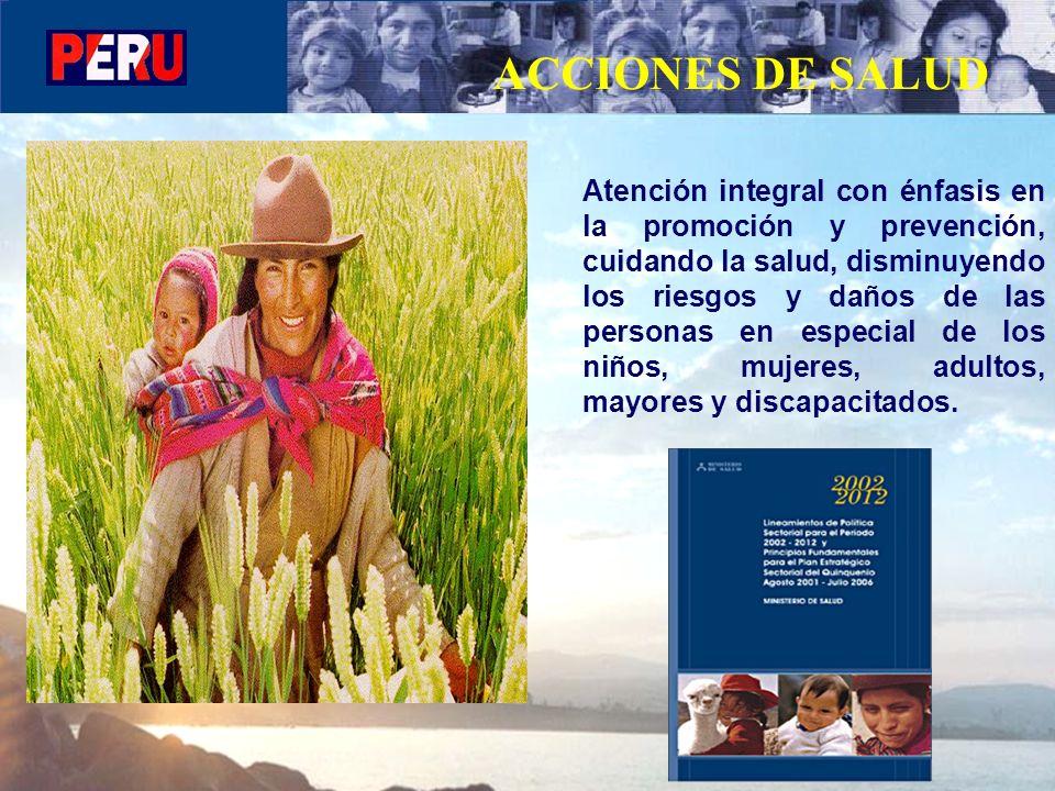 ACCIONES DE SALUD