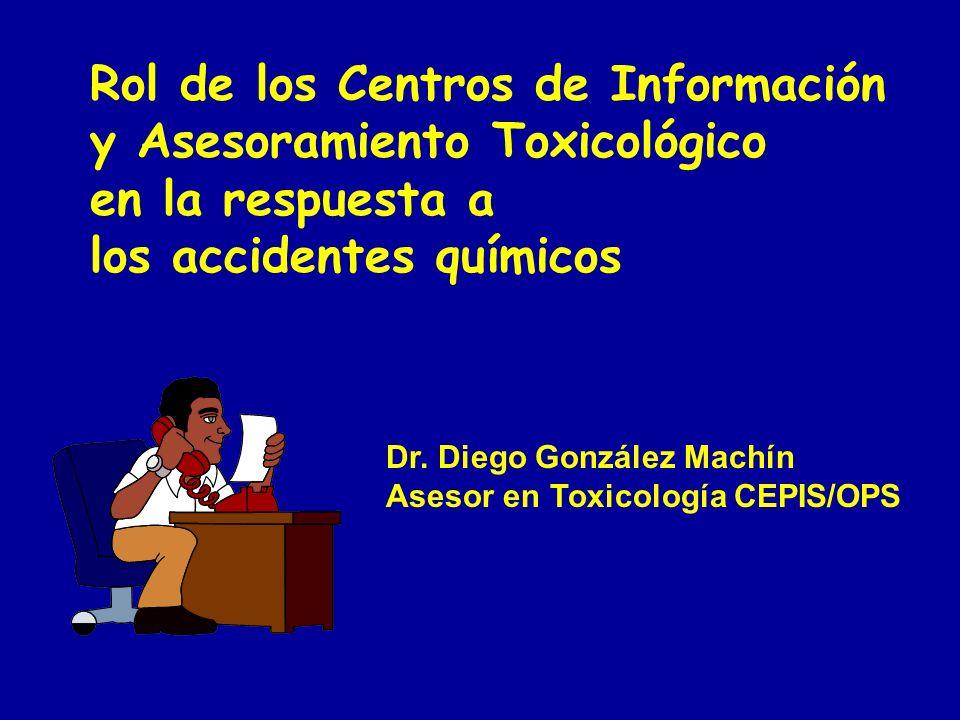 Rol de los Centros de Información y Asesoramiento Toxicológico