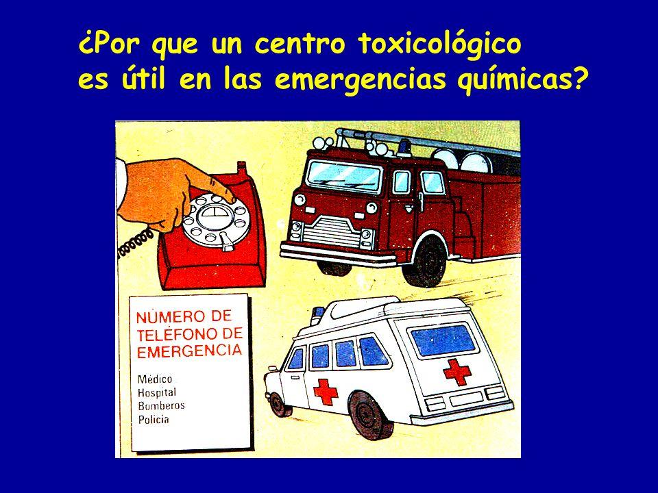 ¿Por que un centro toxicológico