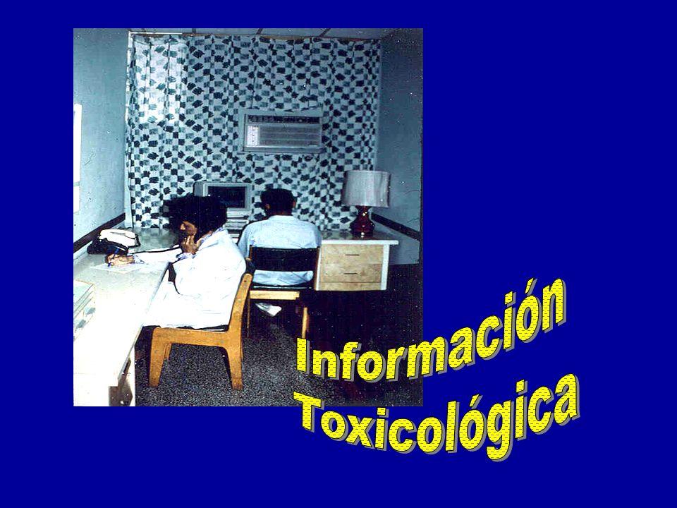 Información Toxicológica
