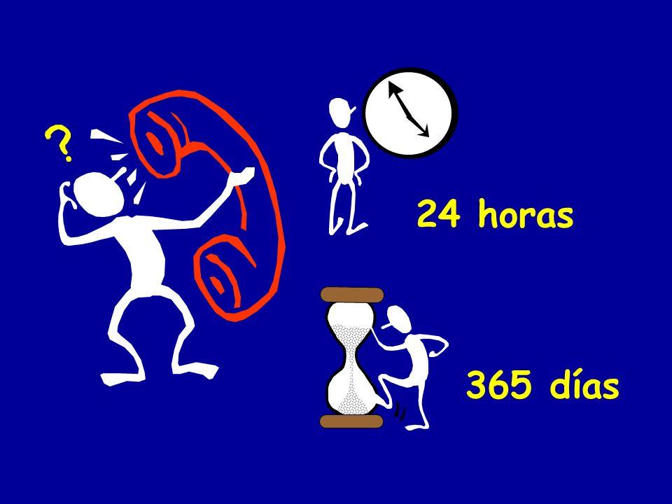 24 horas 365 días