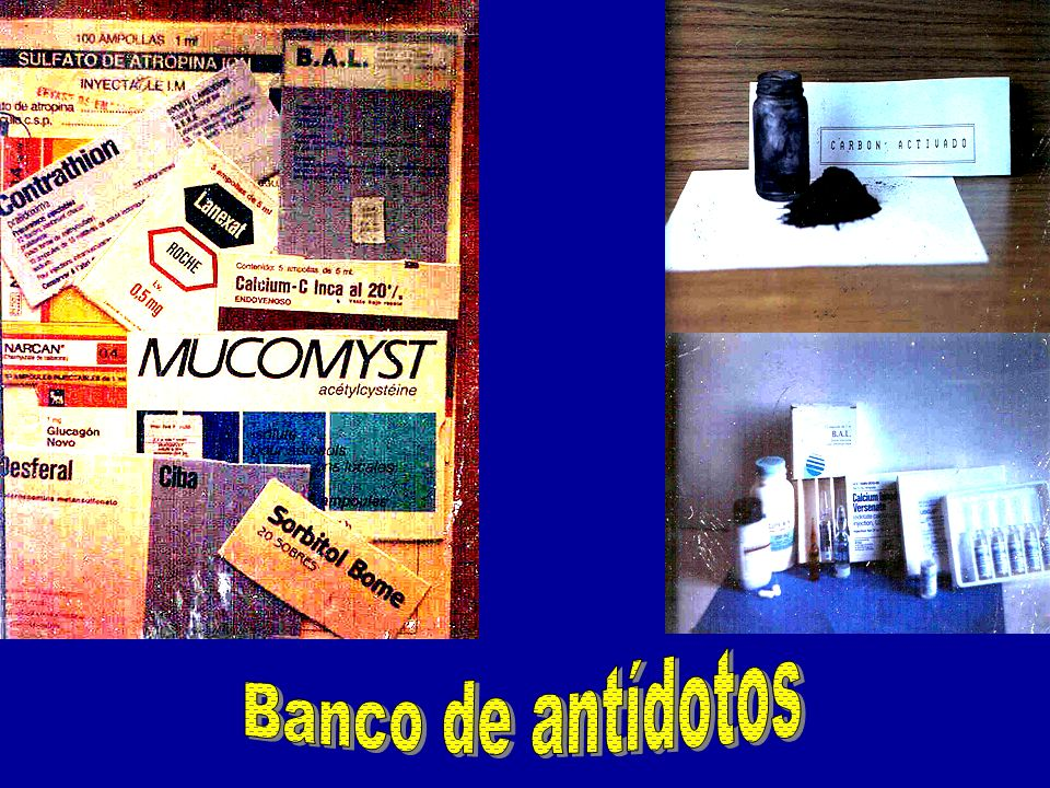 Banco de antídotos