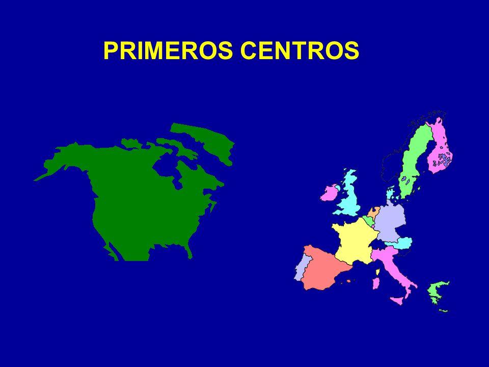 PRIMEROS CENTROS
