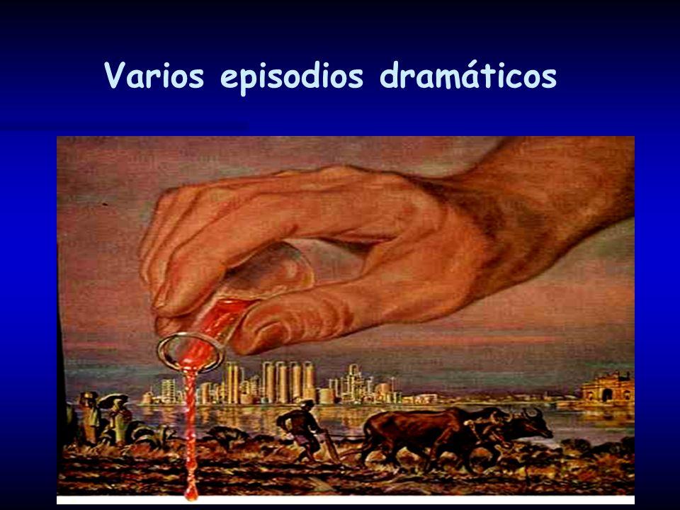 Varios episodios dramáticos