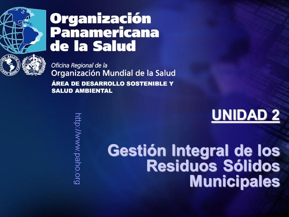 Gestión Integral de los Residuos Sólidos Municipales