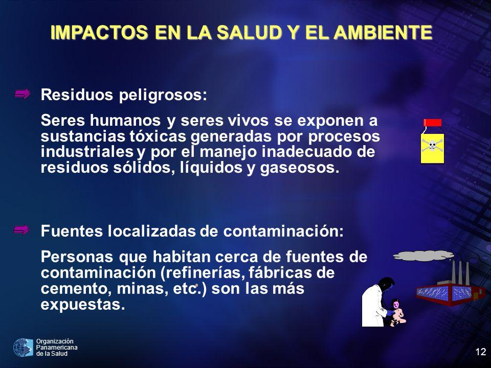 IMPACTOS EN LA SALUD Y EL AMBIENTE